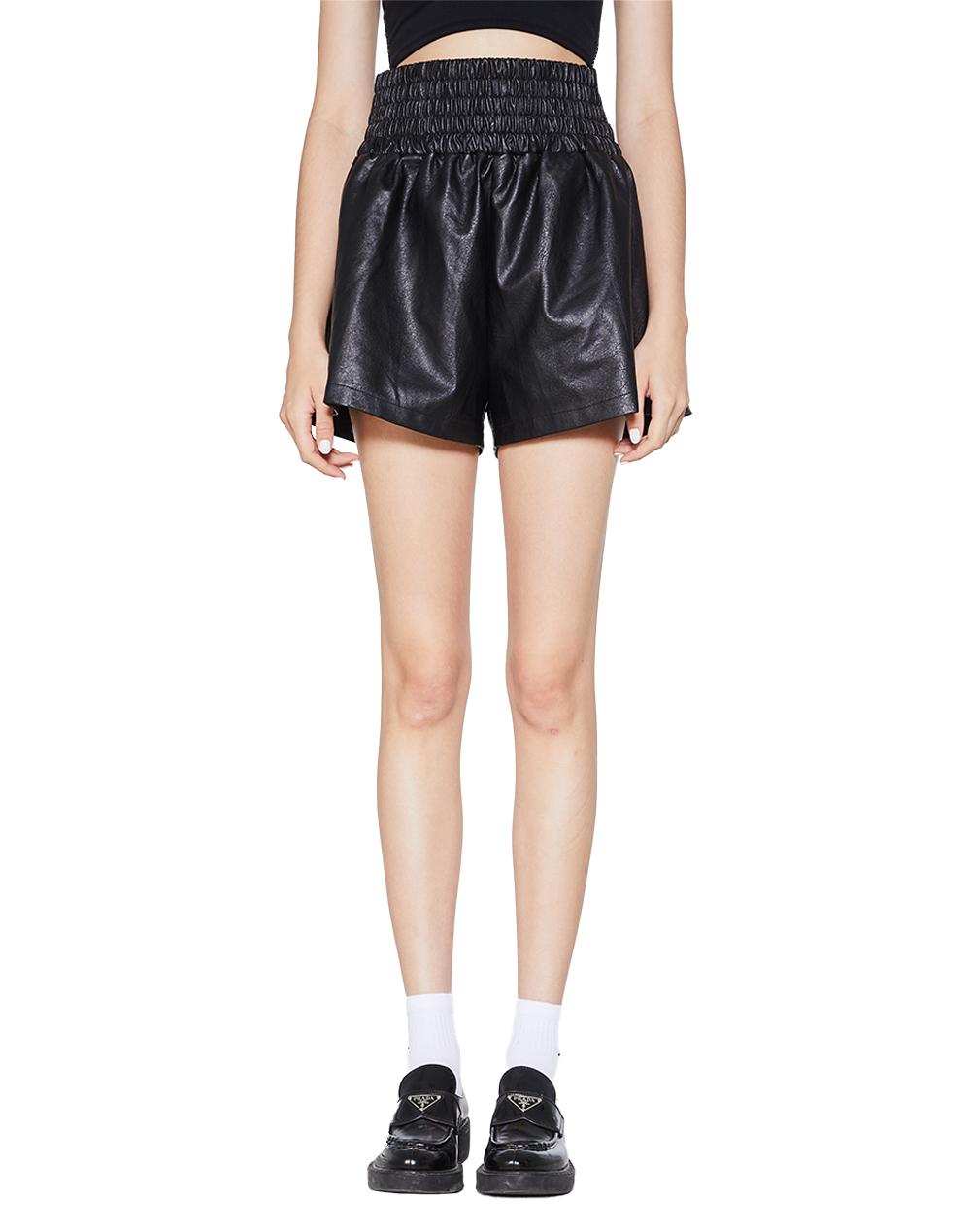 Yoko Leather Short-YUYU