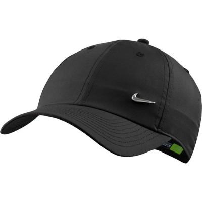 ナイキ 帽子 アクセサリー メンズ Nike Sportswear Heritage86 Hat Black/MetallicSilver