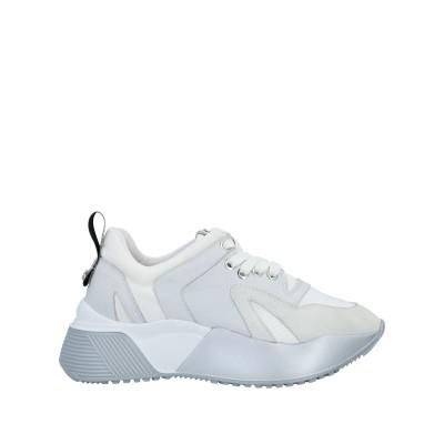 CESARE PACIOTTI 4US スニーカー&テニスシューズ(ローカット) ホワイト 36 革 / 紡績繊維 スニーカー&テニスシューズ(ロー