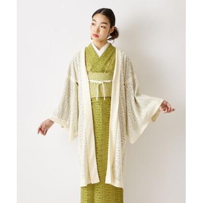 (FURIFU/フリフ)羽織「リーフレース羽織」/ 夏着物・単衣/レディース オフホワイト