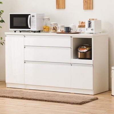 キッチンカウンター(レジューム 150SL-R WH) ニトリ 『配送員設置』 『5年保証』