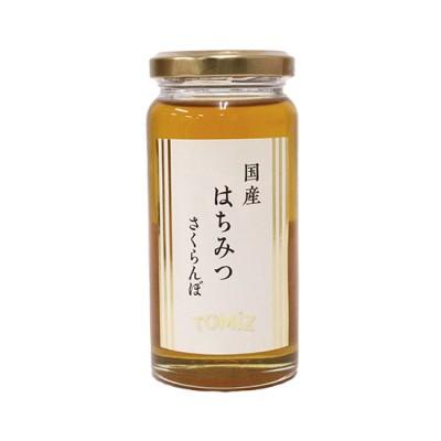 TOMIZ 国産さくらんぼ蜂蜜 / 200g 砂糖・はちみつ・ジャム はちみつ・メープル