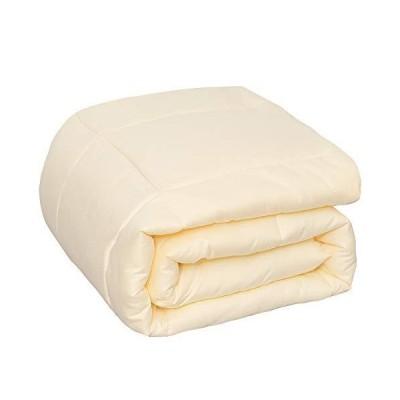 棉素 Mensu 掛け布団 シングル 掛けふとん 冬 軽量 ふわふわ 布団 洗える 肌掛け布団 冬用 2.2kg かけふとん 洗える 抗菌防臭 防ダニ
