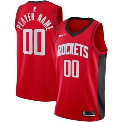 ナイキ メンズ Tシャツ トップス Houston Rockets Nike 2020/21 Swingman Custom Jersey Icon Edition