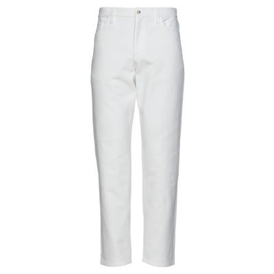 DE BONNE FACTURE パンツ ホワイト 34 コットン 100% パンツ