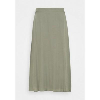 ブルンスバザー スカート レディース ボトムス BAUMA AMATTA SKIRT - A-line skirt - moss
