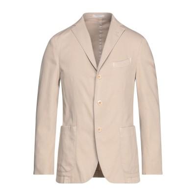 ボリオリ BOGLIOLI テーラードジャケット サンド 48 97% コットン 3% ポリウレタン テーラードジャケット