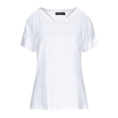 ファビアナフィリッピ FABIANA FILIPPI T シャツ ホワイト 38 コットン 100% / ポリエステル / 真鍮/ブラス T シャツ