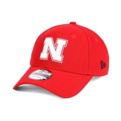 ニューエラ 帽子 アクセサリー メンズ Nebraska Cornhuskers League 9FORTY Adjustable Cap Red
