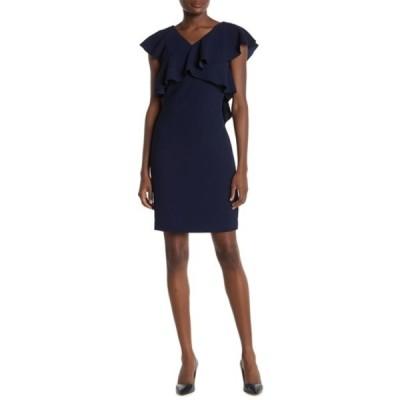 トリーナターク レディース ワンピース トップス Cameron Ruffle Mini Dress INDIGO