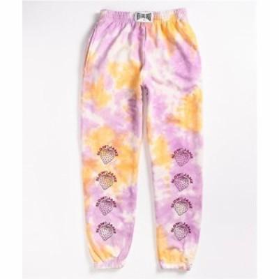 ニューガールオーダー NEW GIRL ORDER レディース ジョガーパンツ ボトムス・パンツ NEW girl ORDER Strawberry Tie Dye Jogger Sweatpan
