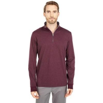 ロバート グラハム メンズ スウェット Triple Crown 1/4 Zip Sweater