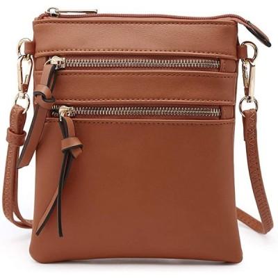 Dasein Crossbody Bag Lightweight ショルダー パース ファンクショナル ハンドバッグ マルチ ポケット『海外取寄せ品』