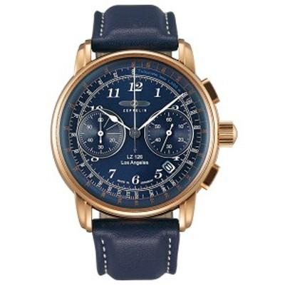 ツェッペリン ZEPPELIN 腕時計 メンズ LZ126 ロサンゼルス Los Angeles クロノグラフ 7616-3