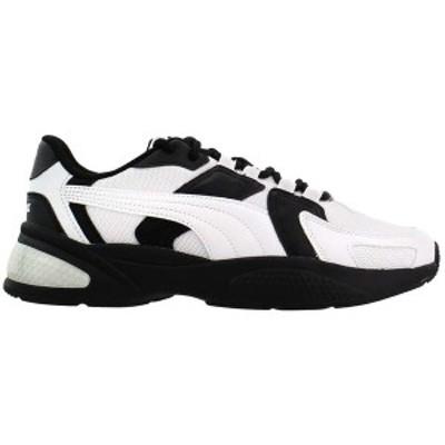 プーマ メンズ スニーカー シューズ Ascend Lace Up Sneakers Puma White / Puma Black / Castlerock