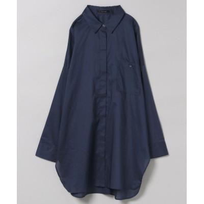 【追加予約】80コットンワイドBIGシャツLS【ネイビーのみ特別価格】