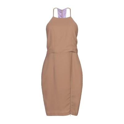 メルシー ..,MERCI ミニワンピース&ドレス キャメル 38 ポリエステル 95% / ポリウレタン 5% ミニワンピース&ドレス
