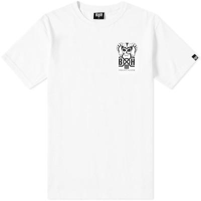 バウンティーハンター Bounty Hunter メンズ Tシャツ トップス Horns Tee White