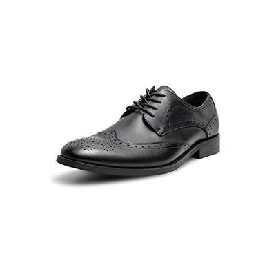 [YIMANIE] ビジネスシューズ 革靴 メンズ 紳士靴 本革 ウィングチップ 高級靴 外羽根 オフィス フォーマル 冠婚葬祭
