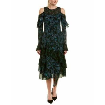 Tanya Taylor タニヤテイラー ファッション ドレス Tanya Taylor Silk Midi Dress