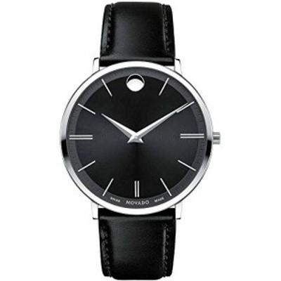 腕時計 モバード レディース Movado Ultra Slim - 0607086 Black One Size