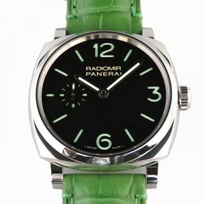 パネライ PANERAI ラジオミール 3デイズ アッチャイオ PAM00574 ブラック文字盤 新品 腕時計 メンズ