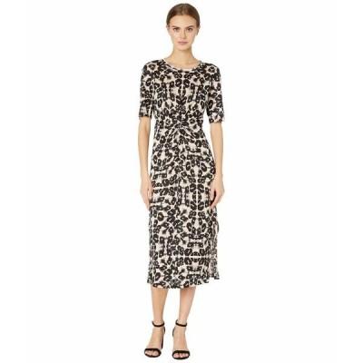 レベッカテイラー ワンピース トップス レディース Short Sleeve Kaleidoscope Jersey Dress Camel Combo