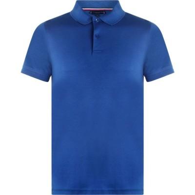 トミー ヒルフィガー Tommy Hilfiger メンズ ポロシャツ トップス Pima Cotton Polo Shirt Blue