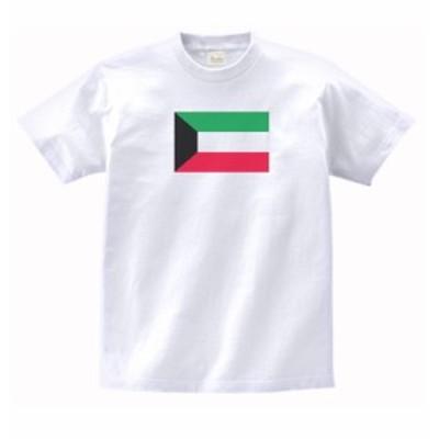国 国旗 Tシャツ クウェート 白