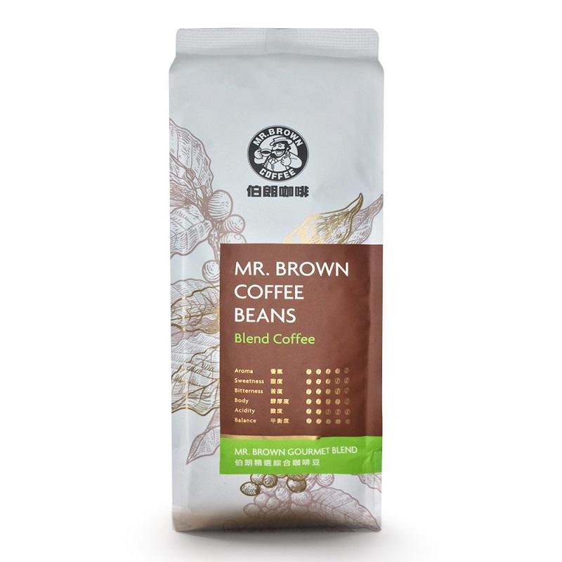 伯朗精選綜合咖啡豆