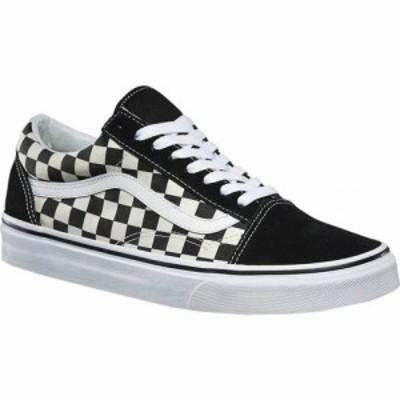 ヴァンズ Vans メンズ スニーカー シューズ・靴 Old Skool Sneaker Primary Check Black/White