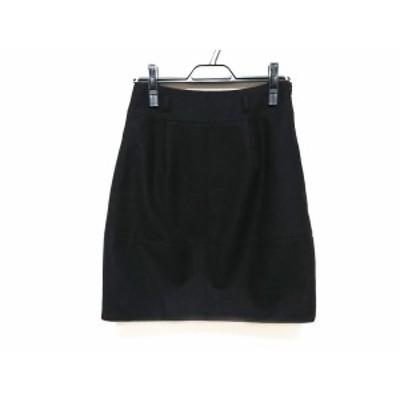 セオリー theory ミニスカート サイズ0 XS レディース 黒【中古】