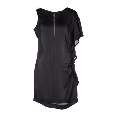 ONLY 4 STYLISH GIRLS by PATRIZIA PEPE ミニワンピース&ドレス ブラック 46 ポリエステル 100% ミニワン