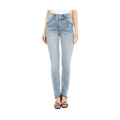 Seven7 Jeans セブンジーンズ レディース 女性用 ファッション ジーンズ デニム Straight Leg with Embroidered Back Pocket in Malibu - Malibu
