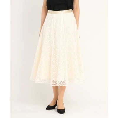 STRAWBERRY-FIELDS / リーフレース スカート WOMEN スカート > スカート