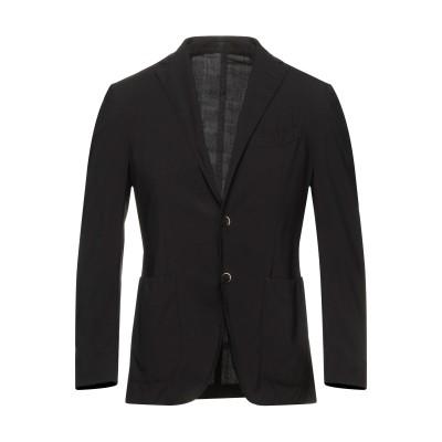ラルディーニ LARDINI テーラードジャケット ブラック 48 バージンウール 97% / ポリウレタン 3% テーラードジャケット