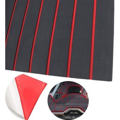 "CNLZ 94.5""X35.4"" Yacht Decorative mat EVA Foam Faux Teak Decking Self-"