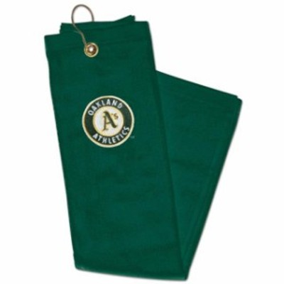 WinCraft ウィンクラフト スポーツ用品  WinCraft Oakland Athletics Embroidered Golf Towel - Green