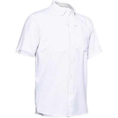 アンダーアーマー シャツ メンズ トップス Under Armour Men's Tide Chaser 2.0 SS Shirt White / White