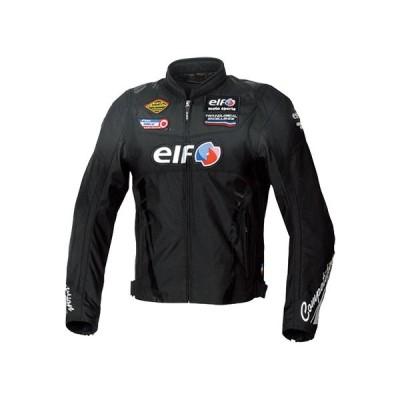 elf・エルフ 秋冬 EL-9247 ヴィットリアスポルトジャケット ブラック 送料無料(一部地域を除く)
