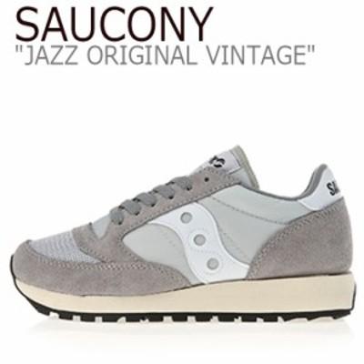 サッカニー ジャズオリジナル スニーカー SAUCONY JAZZ ORIGINAL VINTAGE ジャズ オリジナル ヴィンテージ グレー S70321-9 シューズ