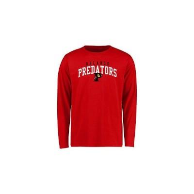 海外バイヤーおすすめ サッカー フットボール リーグ アメリカ USA Orlando Pレッドators ユース レッド チーム Arch 長袖 Tシャツ