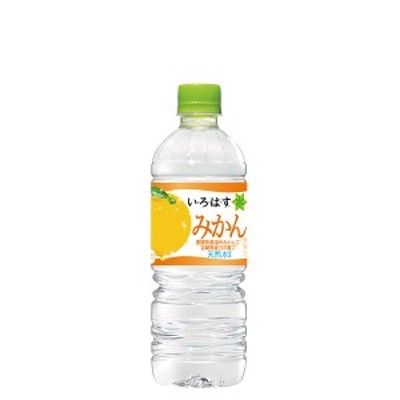 コカ・コーラ い・ろ・は・す  みかん PET 555ml 24本入×1ケース
