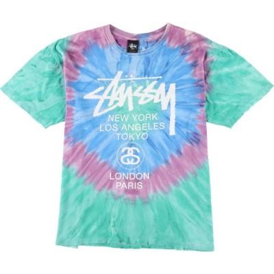 ステューシー STUSSY サーフ スケートTシャツ メンズL /eaa159914