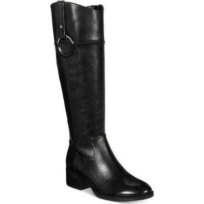 アルファニ Alfani レディース ブーツ シューズ・靴 Bexleyy Riding Leather Boots Black Leather