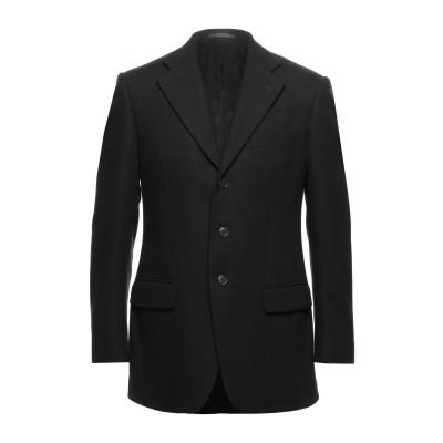 LUBIAM テーラードジャケット ダークブラウン 48 バージンウール 100% テーラードジャケット