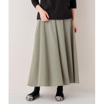 《定番シリーズ・2サイズ展開》ウエストジャージースカート