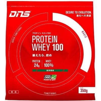 DNS プロテイン ホエイ100 抹茶風味 350g(約10回分) たんぱく質 筋トレ