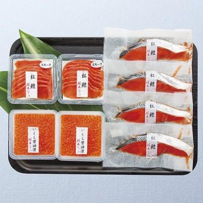 お中元 御中元 ギフト 鮭匠ふじい 天然鮭の味覚尽くし 産地直送商品