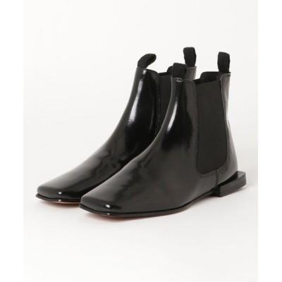 SHIPS for women / JVAM:スクエアチェルシーブーツ WOMEN シューズ > ブーツ